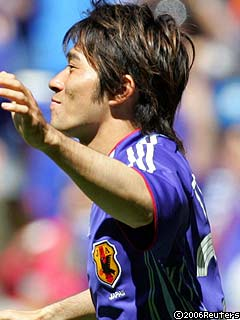玉田圭司!Goal<br />  !!!